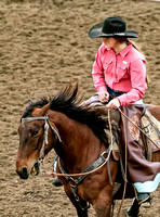 Girls Cow Horse Friday Dodge City Both Perfs