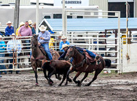 Steer Wrestling Saturday Emporia 2019
